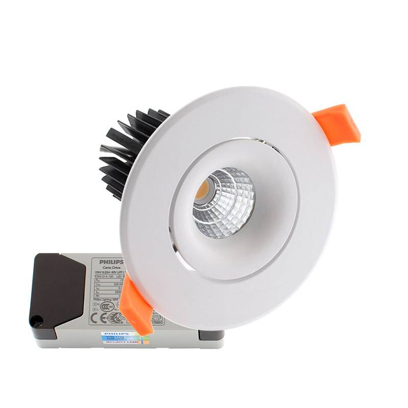 Downlight Led LUXON CREE 12W, Blanco cálido